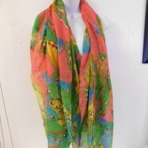 Papillon Butterfly Large Scarf 72 x 42 ""